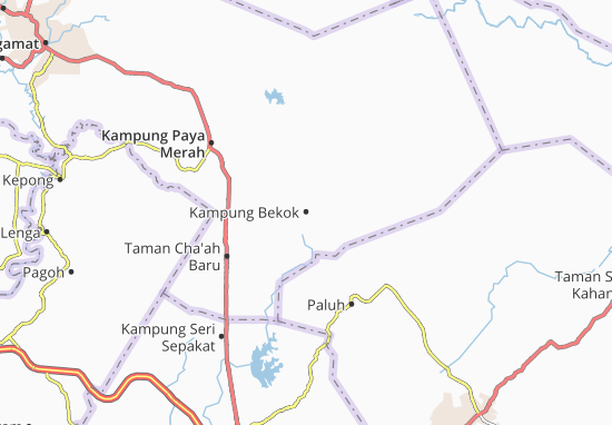 Mapas-Planos Kampung Bekok