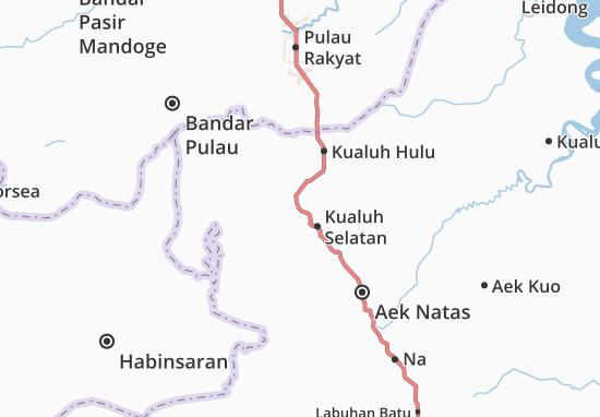Mapas-Planos Kualuh Selatan