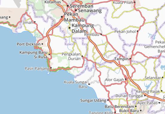 Pengkalan Durian Map