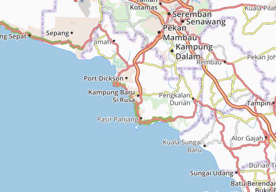 Mapas-Planos Kampung Baru Si Rusa