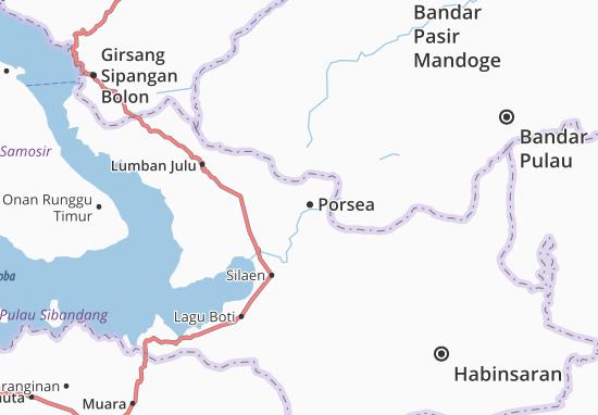 Porsea Map