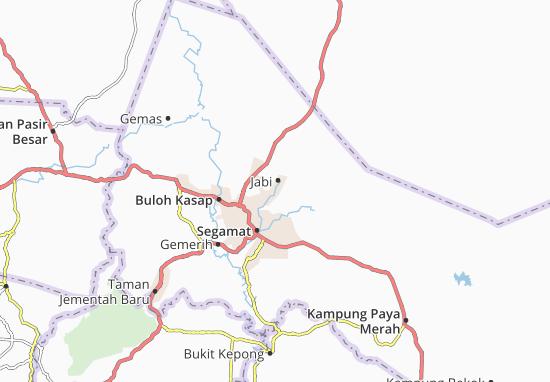 Kaart Plattegrond Jabi