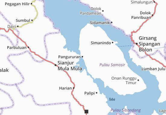 Carte-Plan Pangururan
