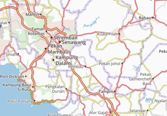 Mapas-Planos Kampung Tengah Spri