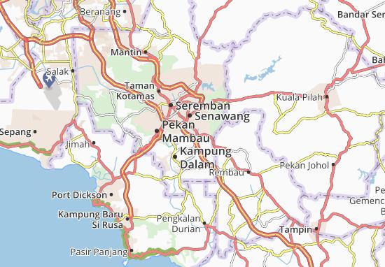 Mapas-Planos Kampung Dalam