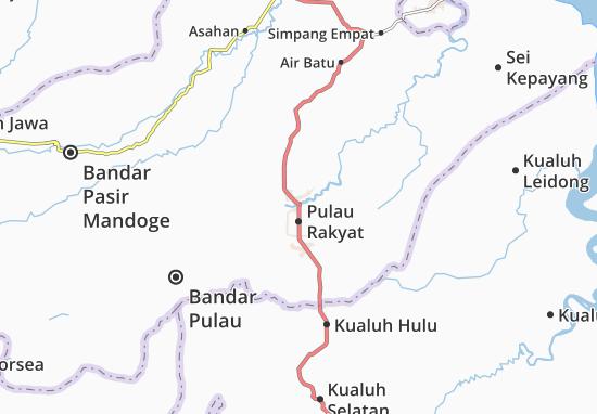 Pulau Rakyat Map