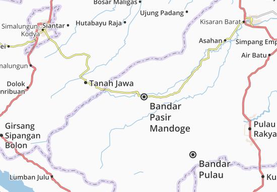 Mappe-Piantine Bandar Pasir Mandoge