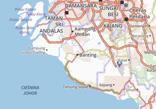 Banting Map