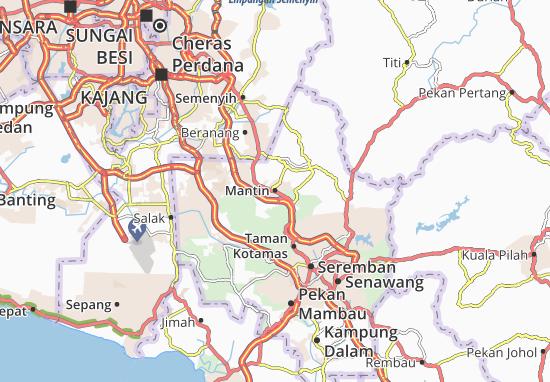 Mapas-Planos Mantin