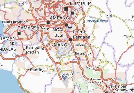 Mapas-Planos Putrajaya