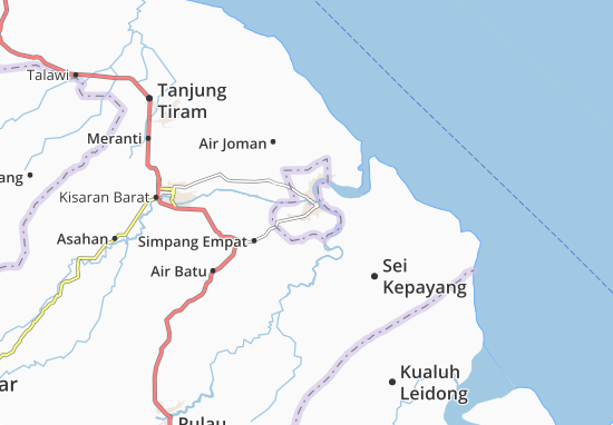 Carte-Plan Tanjung Balai Utara