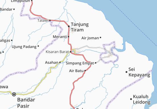 Carte-Plan Kisaran Timur