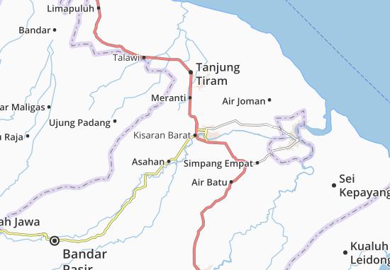 Carte-Plan Kisaran Barat