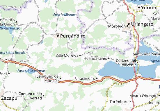 Carte-Plan Villa Morelos