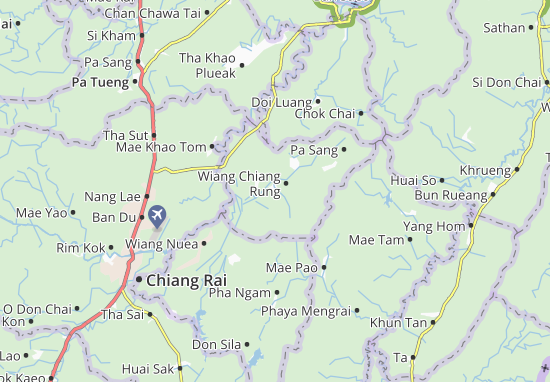 Mappe-Piantine Wiang Chiang Rung