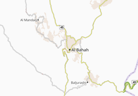 Carte-Plan Al Bahir