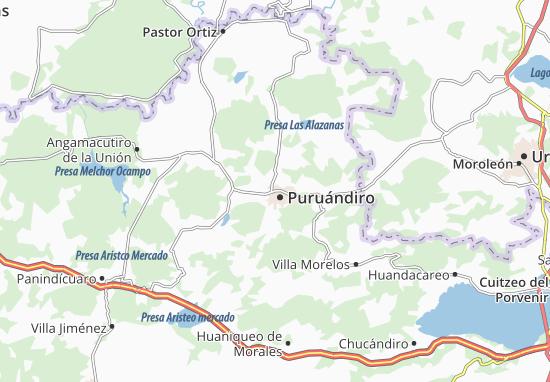 Carte-Plan Puruándiro