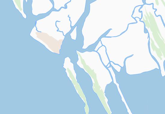 Mapa Plano Kyaukpyinseik