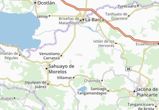 Carte-Plan Pajacuarán