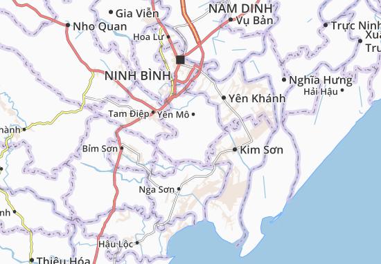 Yên Thành Map