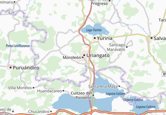 Carte-Plan Moroleón