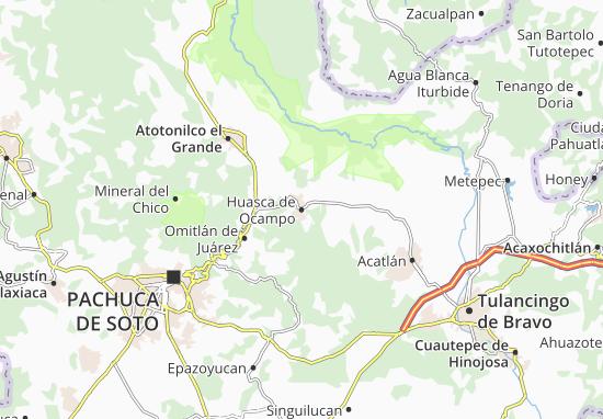 Mappe-Piantine Huasca de Ocampo