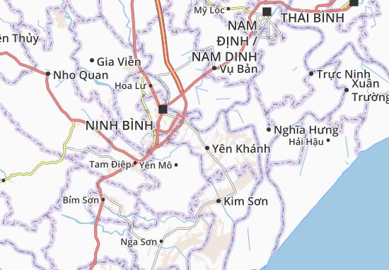 Carte-Plan Khánh Cư