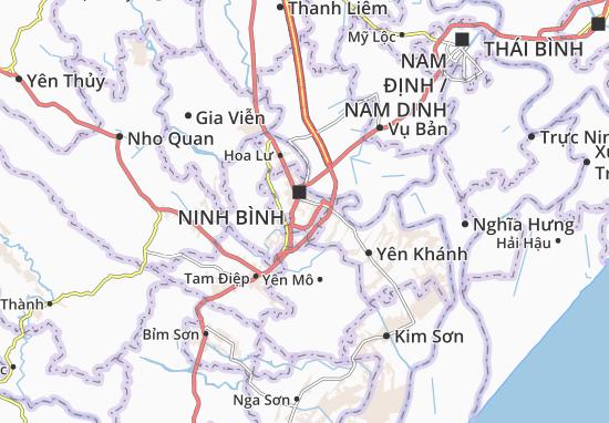 Carte-Plan Ninh Phong