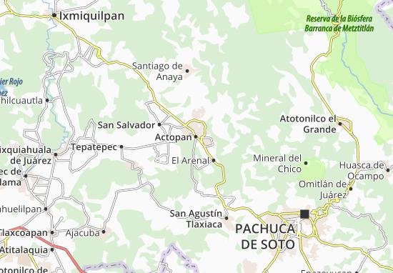 Mappe-Piantine Actopan