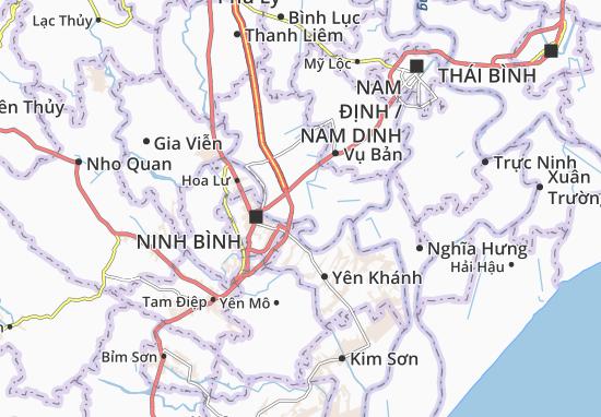 Carte-Plan Yên Khang