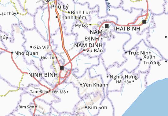 Carte-Plan Yên Lương