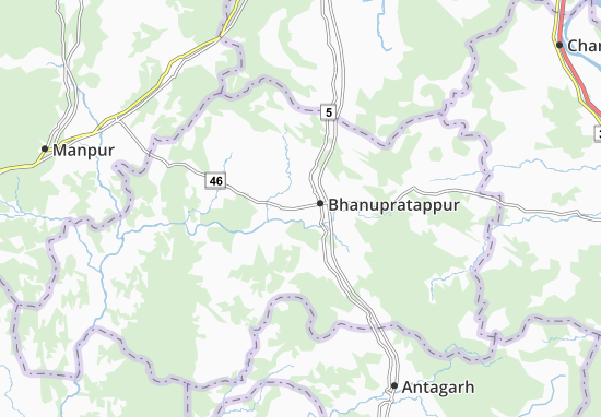 Sambalpur Map