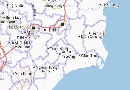 Carte-Plan Xuân Thành