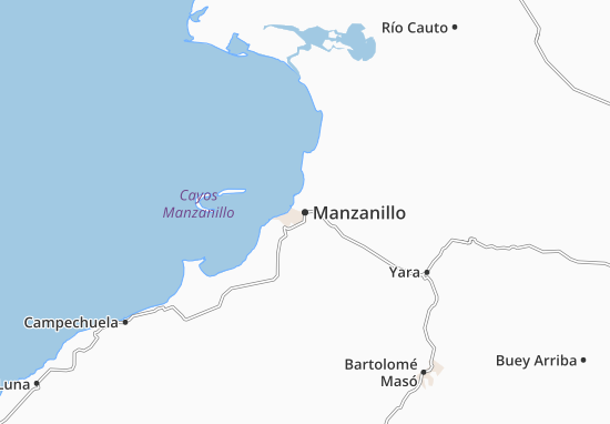 Manzanillo Map