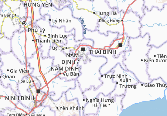 Map of nam vn michelin nam vn map viamichelin are you looking for the map of nam vn find any address on the map of nam vn or calculate your itinerary to and from nam vn find all the tourist sciox Image collections