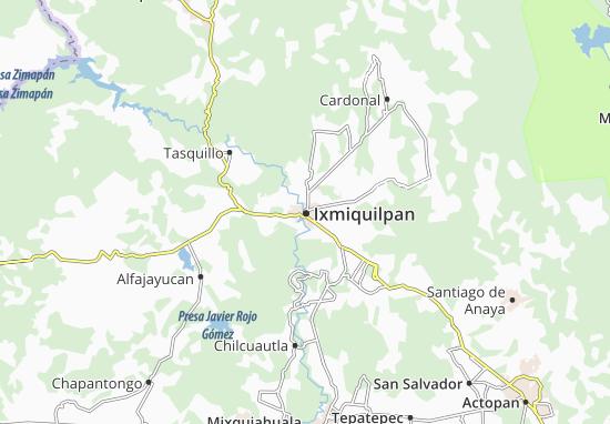 Mapas-Planos Ixmiquilpan