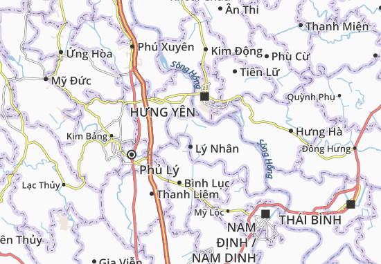 Kaart Plattegrond Công Lý