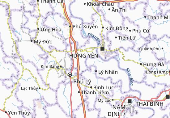 Yên Nam Map