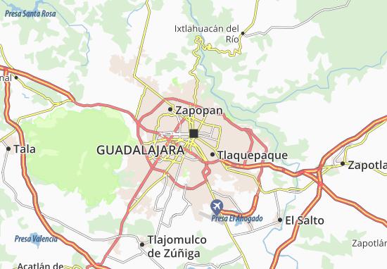 Mappe-Piantine Guadalajara