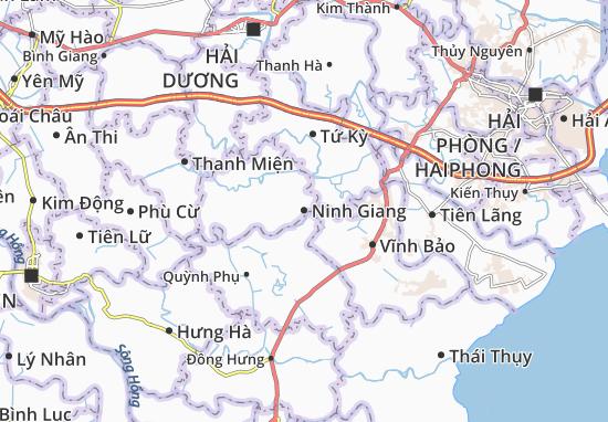Mapas-Planos Ninh Giang