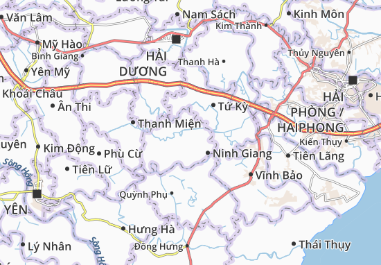 Kaart Plattegrond Tân Hương