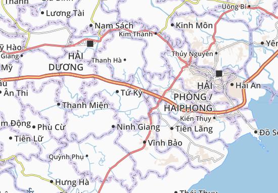 Carte-Plan An Thanh