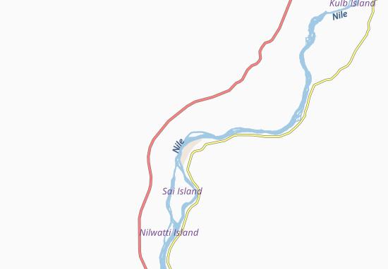 Carte-Plan Abri-West