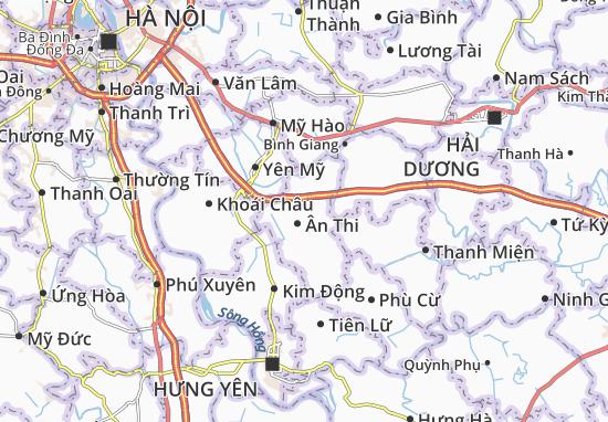 Carte-Plan Quang Vinh