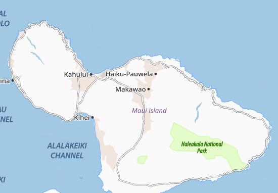 Pukalani Map