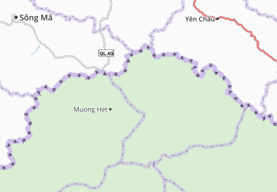 Ban Loup Map