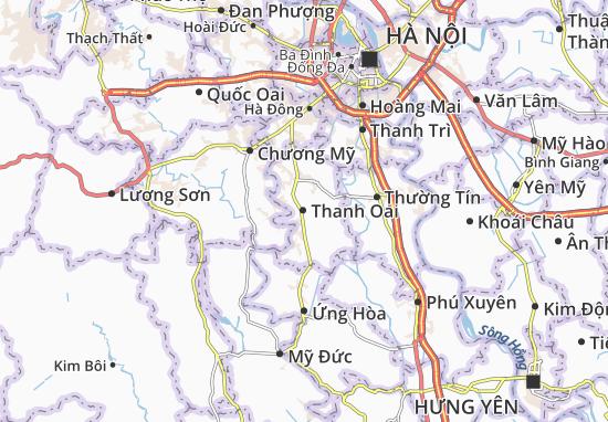 Carte-Plan Thanh Oai
