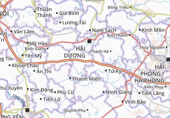 Carte-Plan Gia Khánh