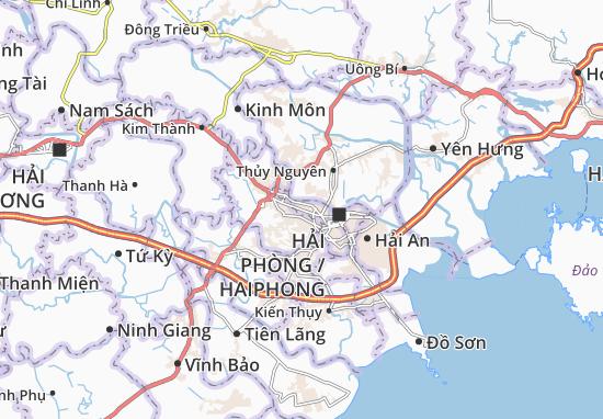 Carte-Plan Hùng Vương
