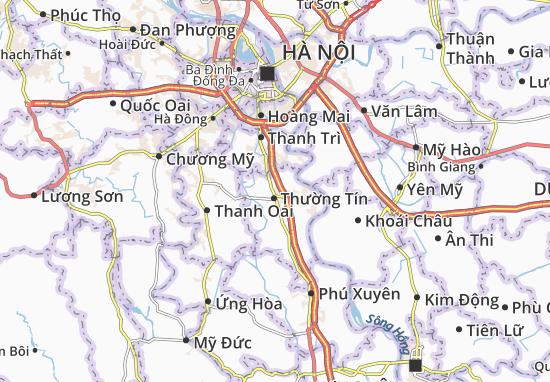 Văn Bình Map